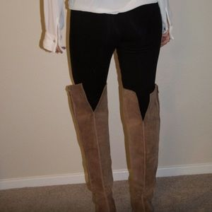 f75387a1417 Lucky Brand Shoes - like new sz 8.5 lucky brand thigh high wedge boots